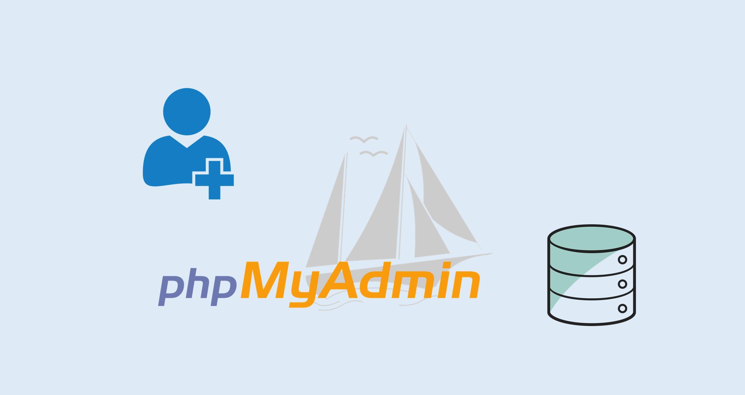 Tạo tài khoản người dùng và cơ sở dữ liệu trong phpMyAdmin -ảnh minh họa