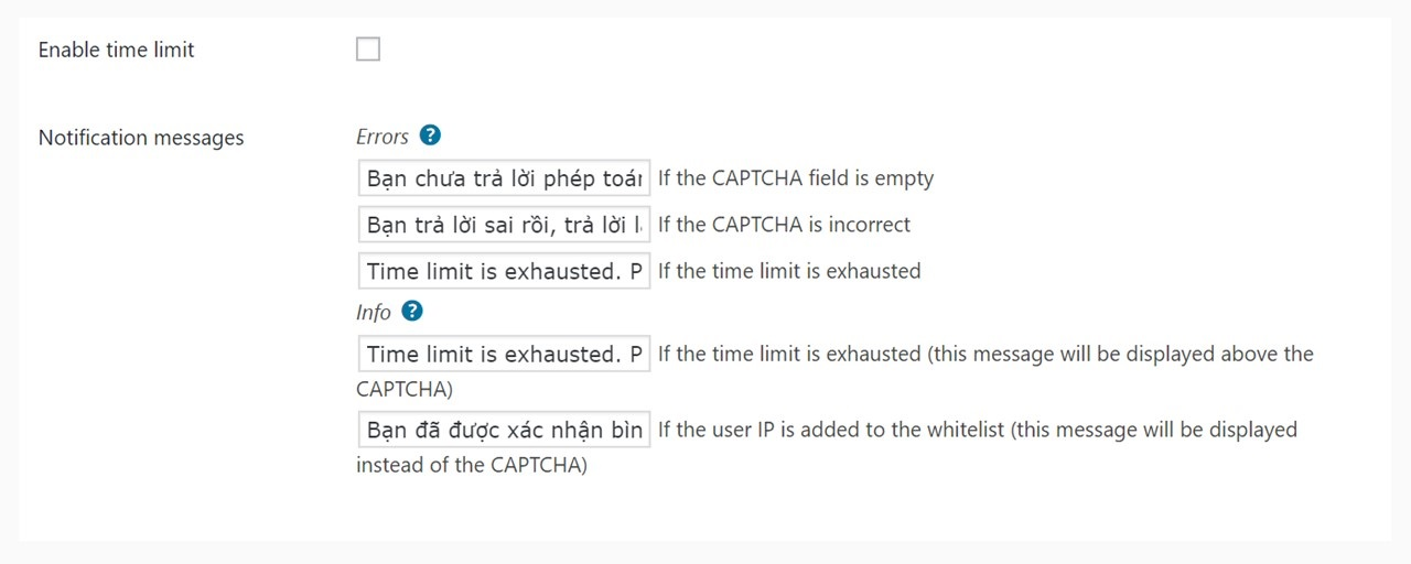 Thiet lap plugin Captcha by BestWebSoft - 02