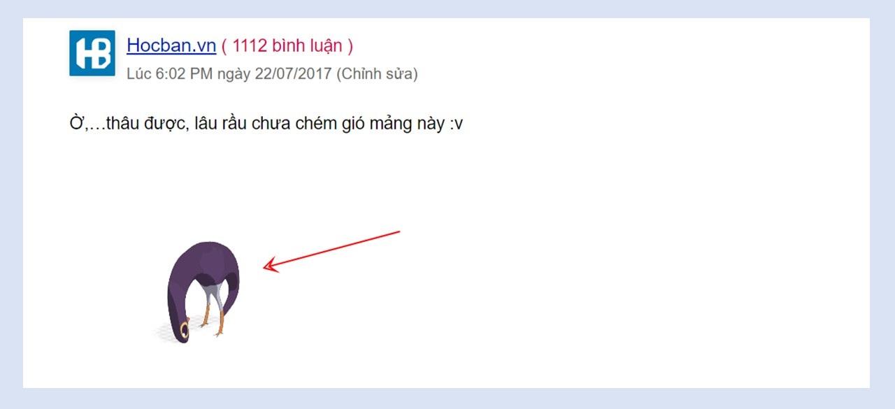 Chen anh vao binh luan tren WordPress