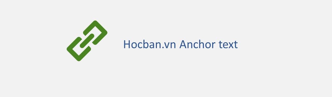 Chen link anchor text vao binh luan tren Hocban.vn