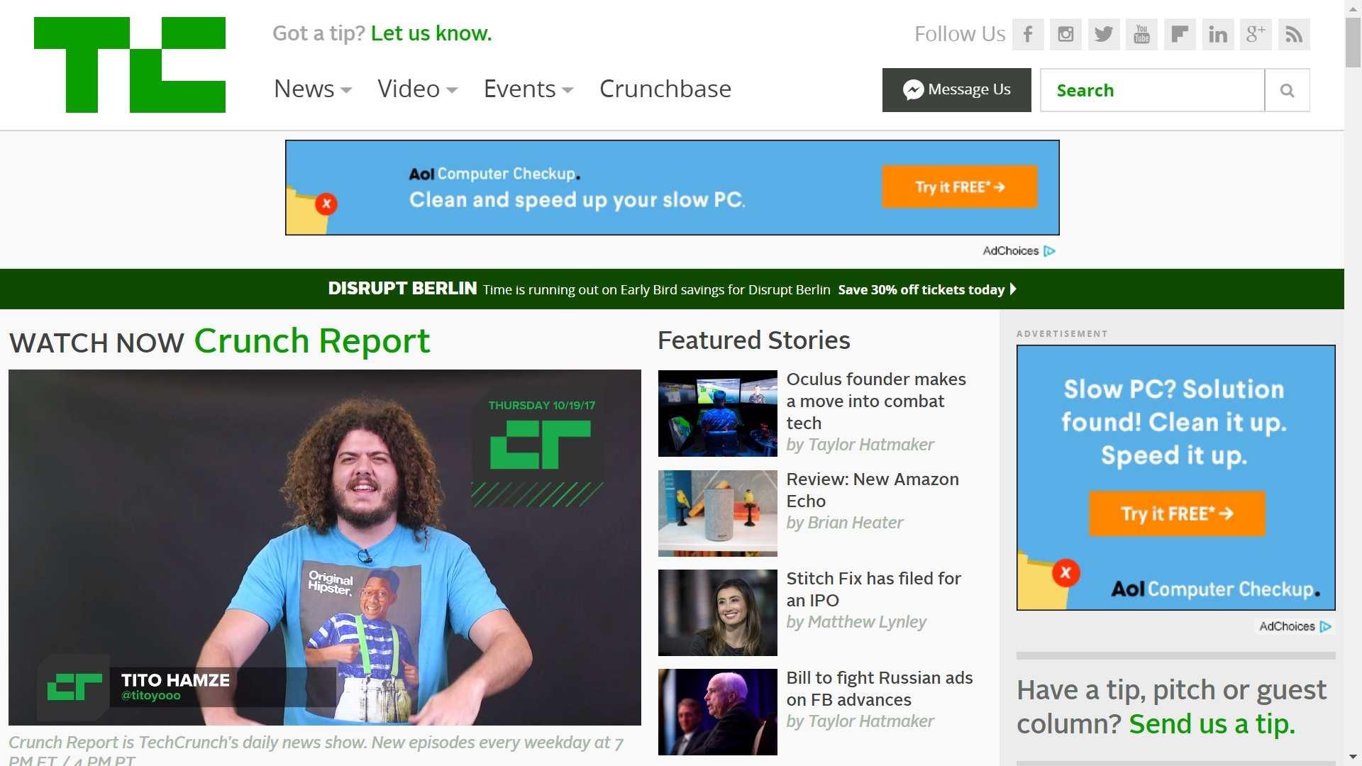Techcrunch com