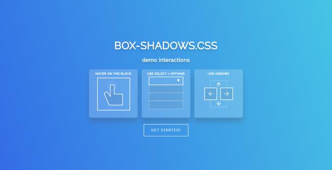 Tổng hợp một số mẫu CSS Box Shadows đẹp