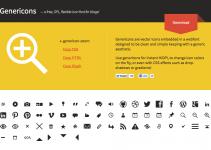Genericons unicode codes list values
