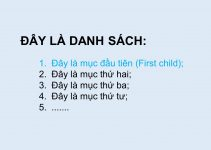 Hướng dẫn cách sử dụng first child trong CSS