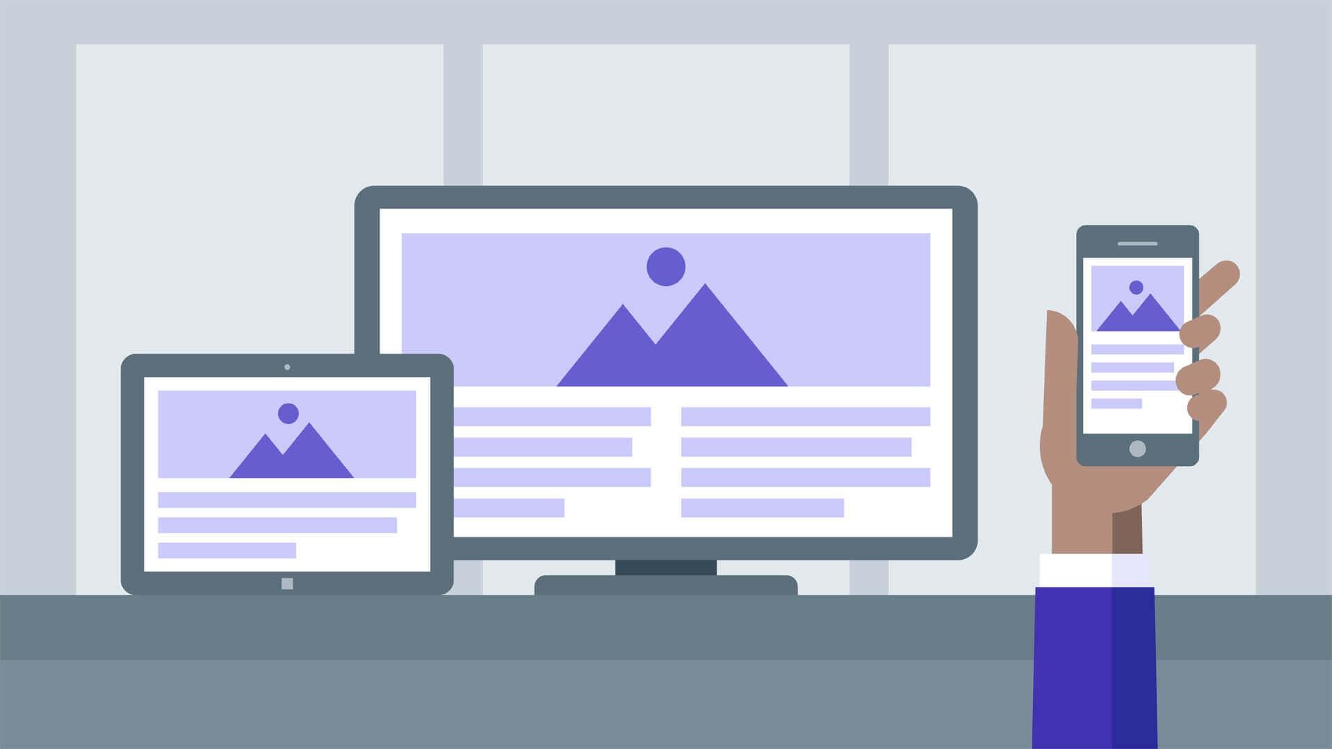 Responsive image voi HTML CSS