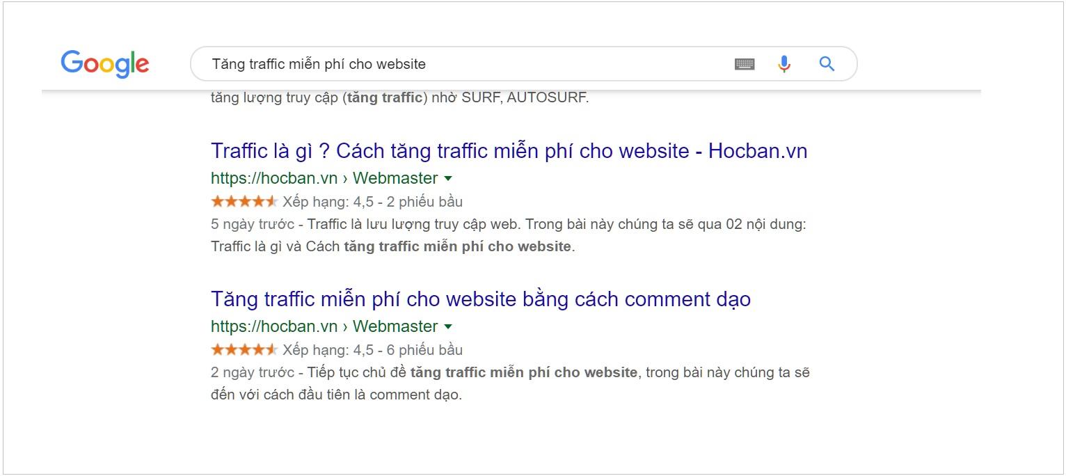 Tăng traffic miễn phí cho website bằng commnent dạo cũng được sao ?