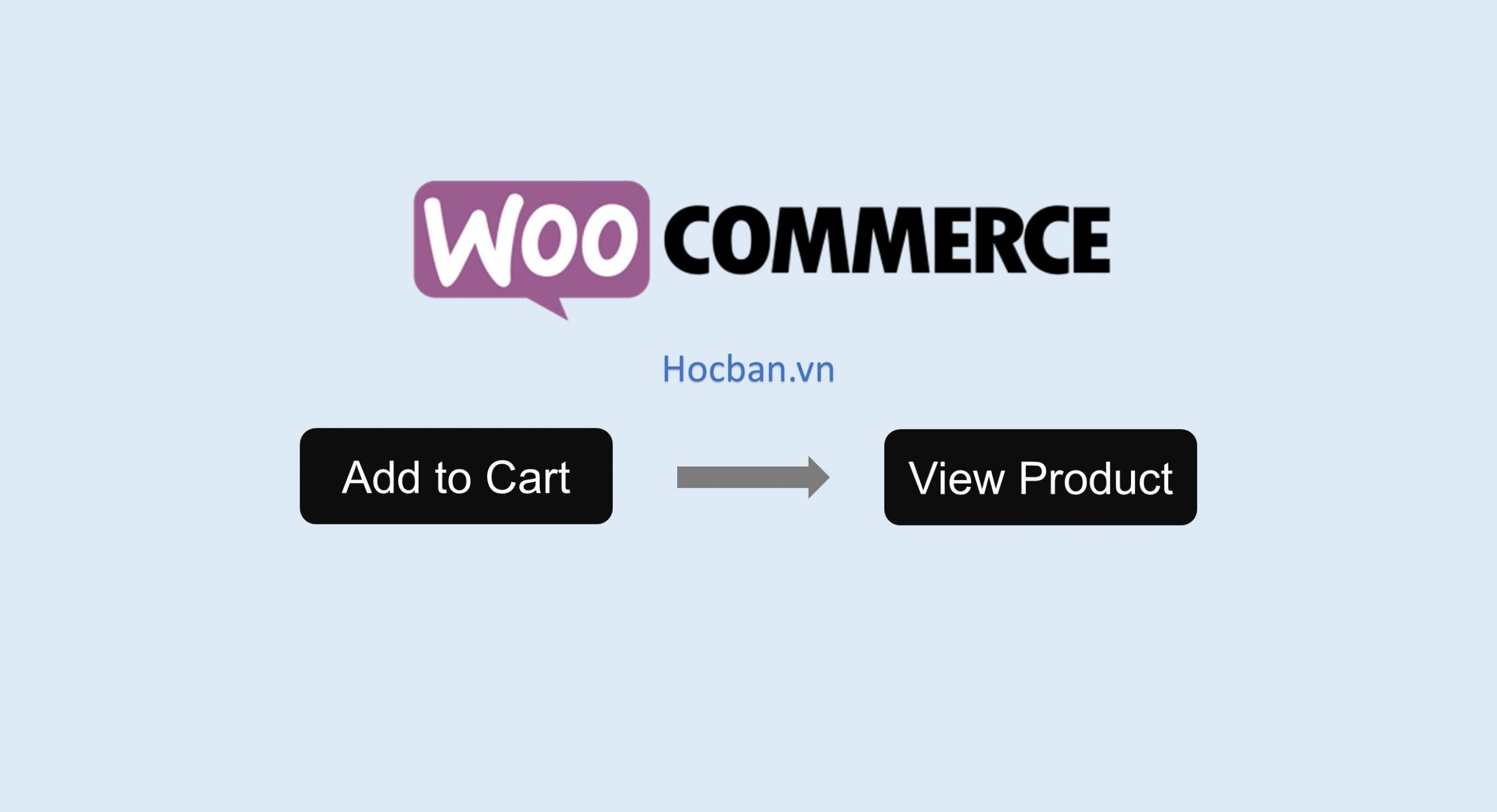 Thay the nut Add to Cart thanh View Product trong WooCommerce