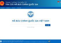 Tra cứu mã bưu chính Việt Nam chuẩn xác theo website Nhà Nước