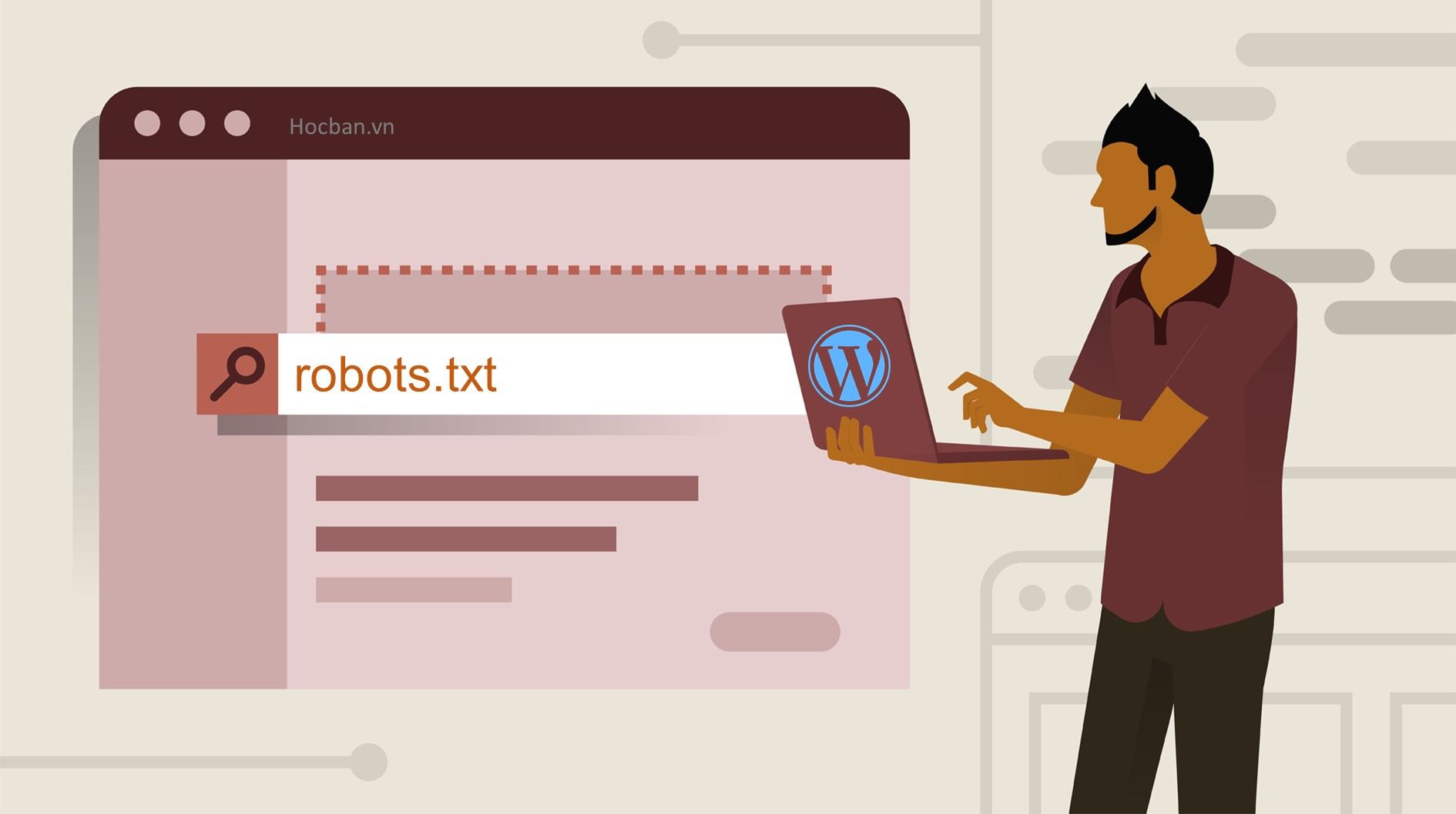 File robots.txt chuan cho website WordPress
