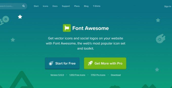 Sử dụng Font Awesome để tạo icons trong Blogspot Blogger