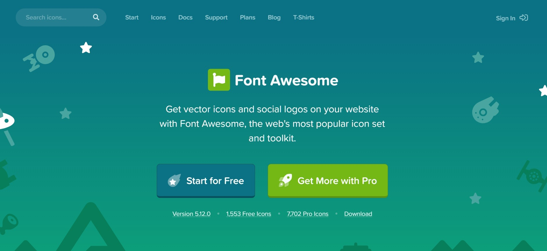 Su dung Font Awesome de tao icons trong Blogspot Blogger