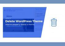 Cách xóa những theme không sử dụng trên WordPress